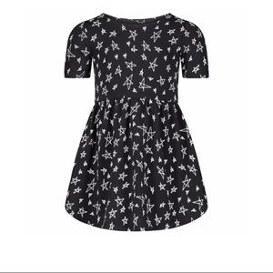 June & January onyx snow star dress